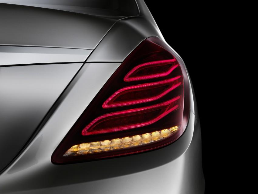 W222 Mercedes-Benz S-Class – official details Image #174817