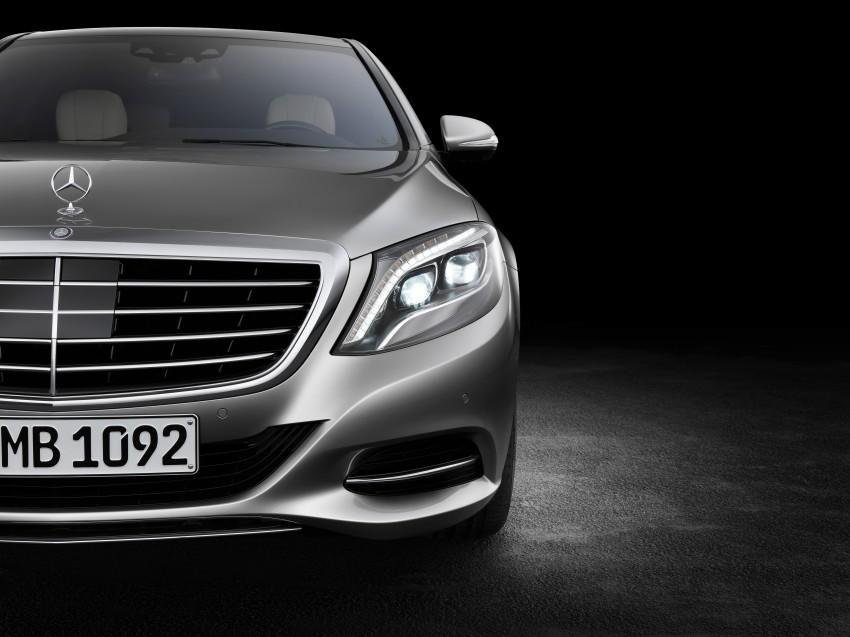W222 Mercedes-Benz S-Class – official details Image #174819