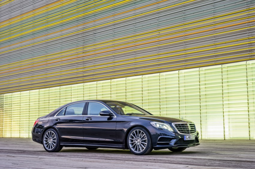 W222 Mercedes-Benz S-Class – official details Image #174824
