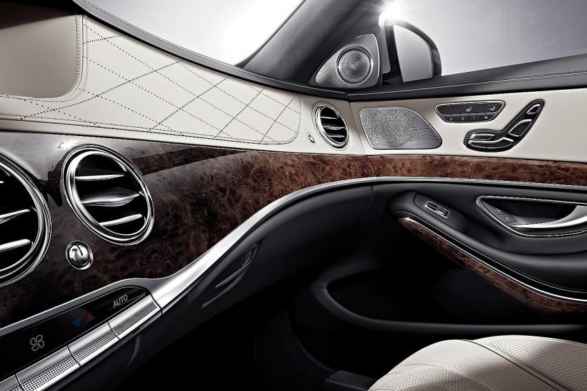 W222 Mercedes-Benz S-Class – official details Image #174867