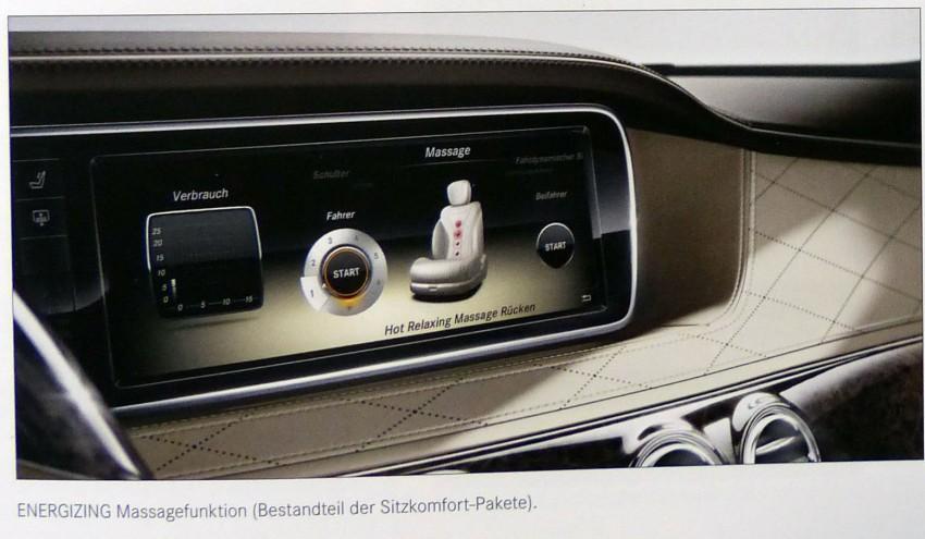 W222 Mercedes-Benz S-Class brochure leaked! Image #174194