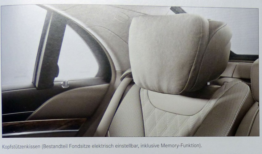 W222 Mercedes-Benz S-Class brochure leaked! Image #174195