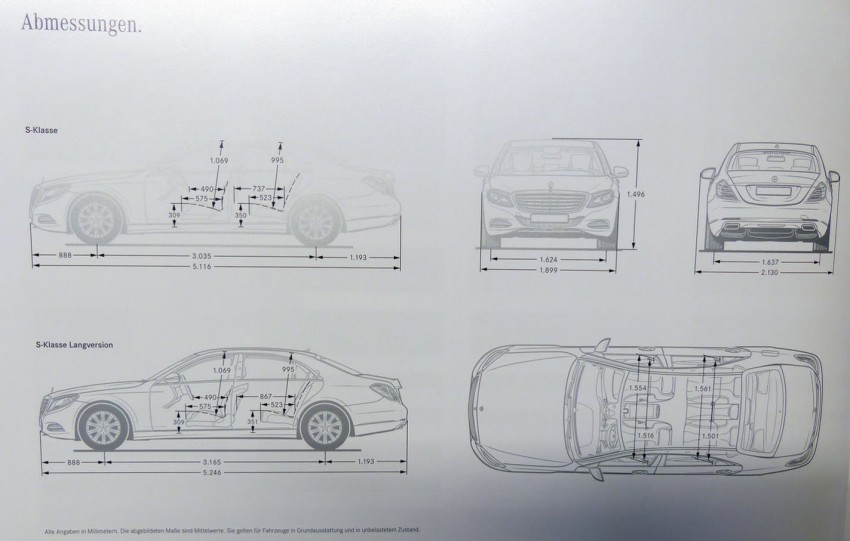 W222 Mercedes-Benz S-Class brochure leaked! Image #174198