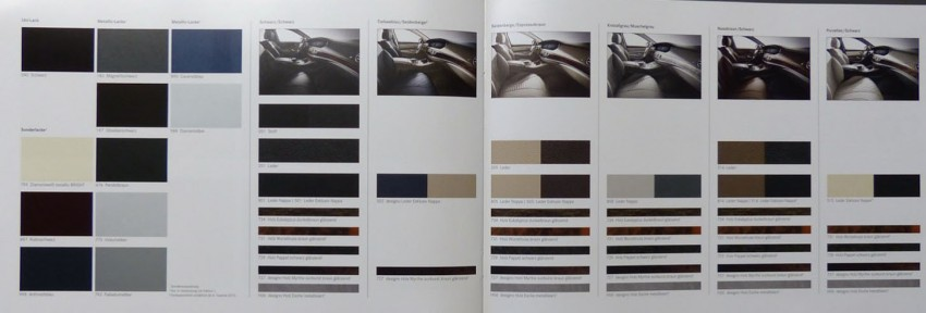 W222 Mercedes-Benz S-Class brochure leaked! Image #174199