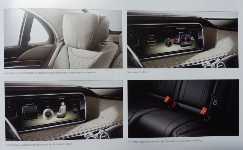 W222 Mercedes-Benz S-Class brochure leaked! Image #174201