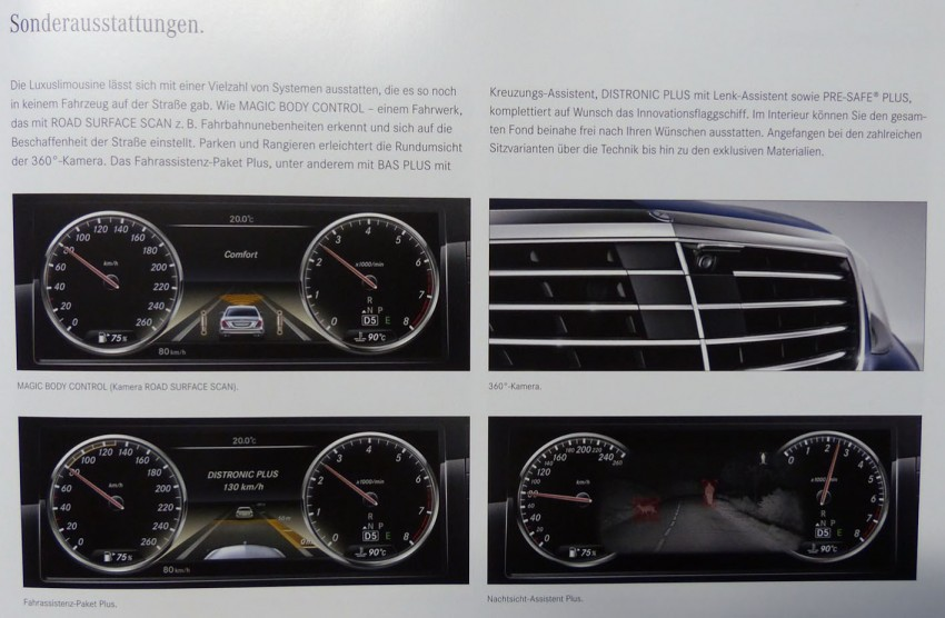 W222 Mercedes-Benz S-Class brochure leaked! Image #174203