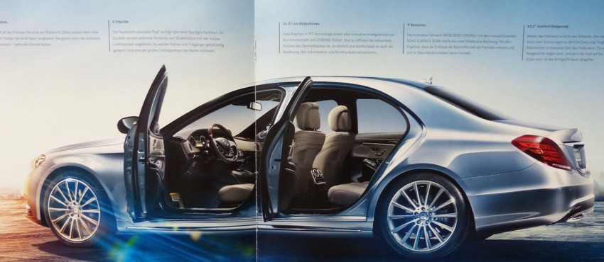 W222 Mercedes-Benz S-Class brochure leaked! Image #174205