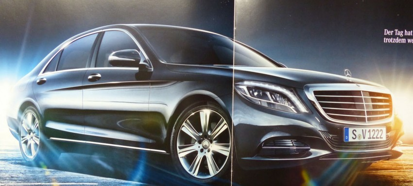 W222 Mercedes-Benz S-Class brochure leaked! Image #174206