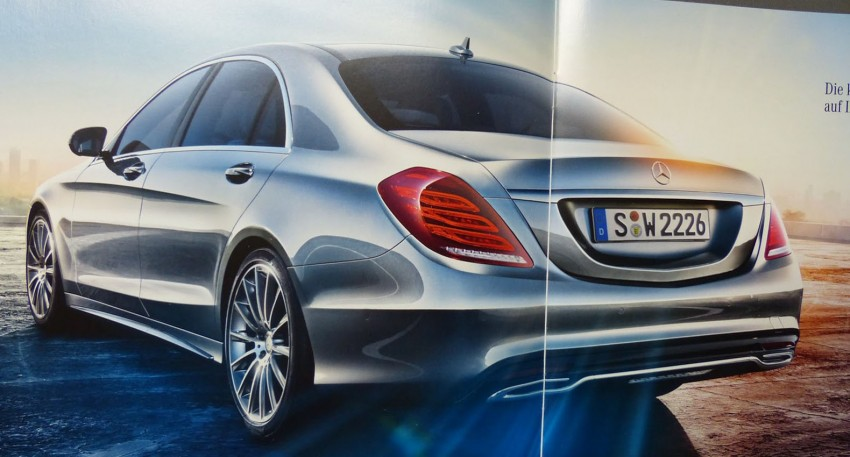W222 Mercedes-Benz S-Class brochure leaked! Image #174207
