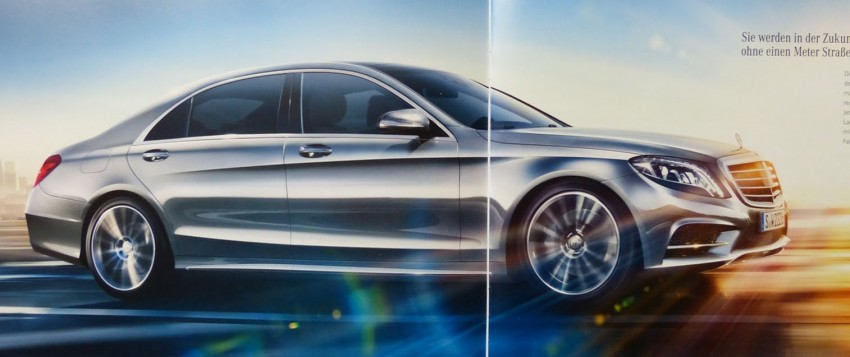 W222 Mercedes-Benz S-Class brochure leaked! Image #174208