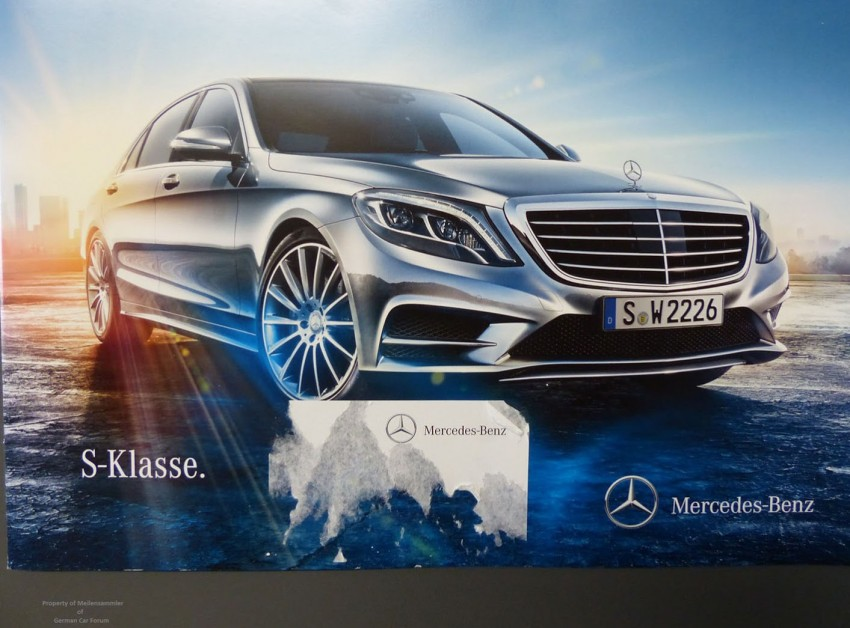 W222 Mercedes-Benz S-Class brochure leaked! Image #174209