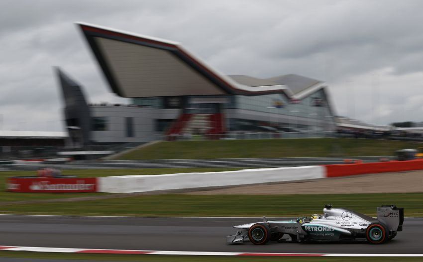 Mercedes AMG Petronas tops final British GP practice Image #184044