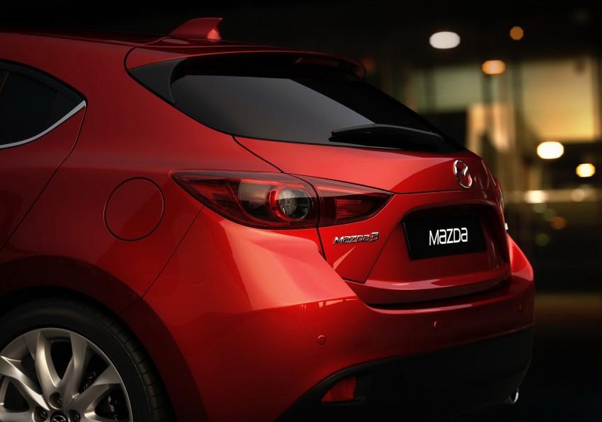 2014 Mazda 3 5-door hatchback makes world debut Image #183077