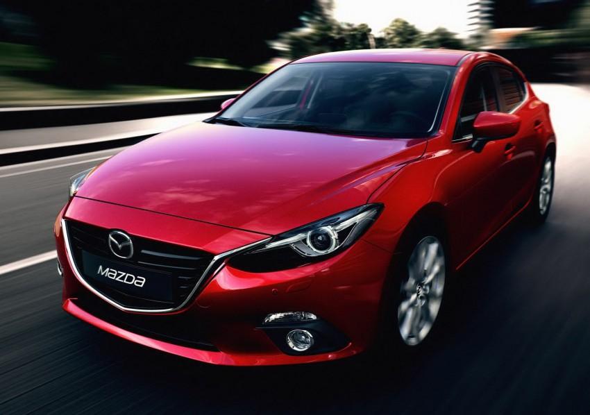 2014 Mazda 3 5-door hatchback makes world debut Image #183078