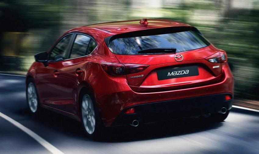2014 Mazda 3 5-door hatchback makes world debut Image #183079