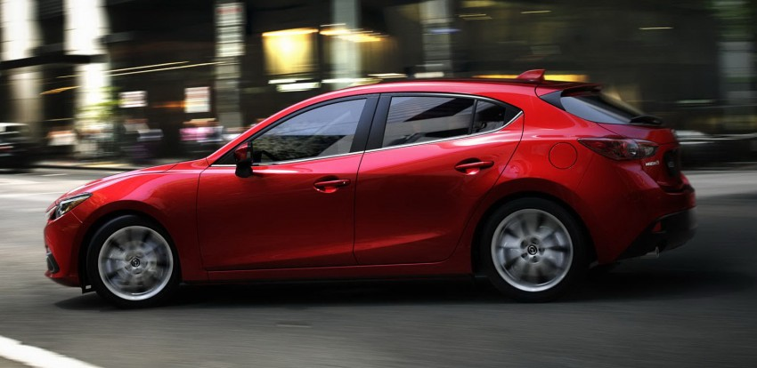 2014 Mazda 3 5-door hatchback makes world debut Image #183082