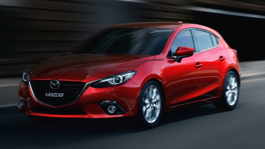 2014 Mazda 3 5-door hatchback makes world debut Image #183084