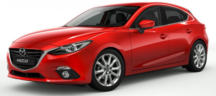2014 Mazda 3 5-door hatchback makes world debut Image #183085