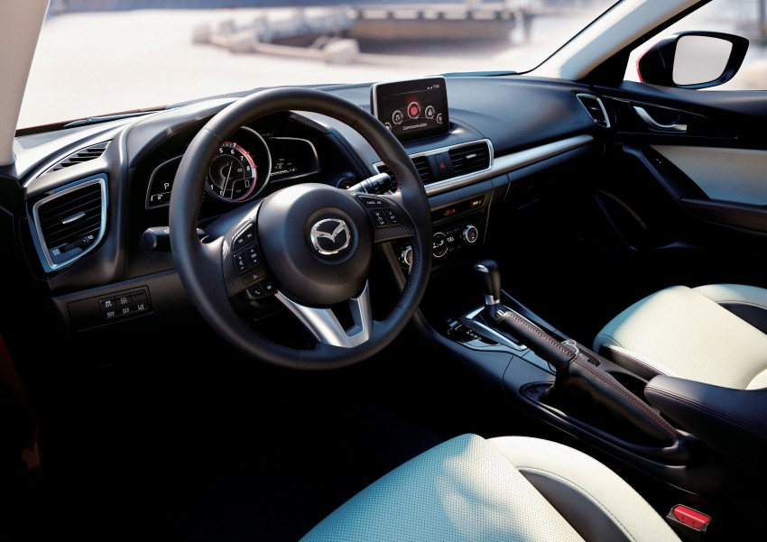 2014 Mazda 3 5-door hatchback makes world debut Image #183086