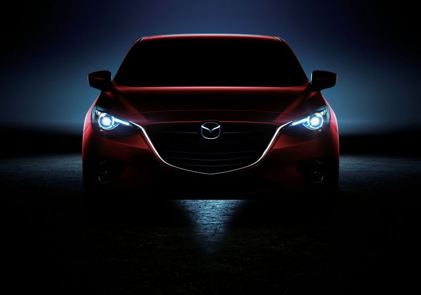 2014 Mazda 3 5-door hatchback makes world debut Image #183087