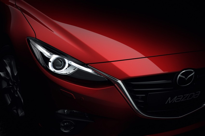 2014 Mazda 3 5-door hatchback makes world debut Image #183088