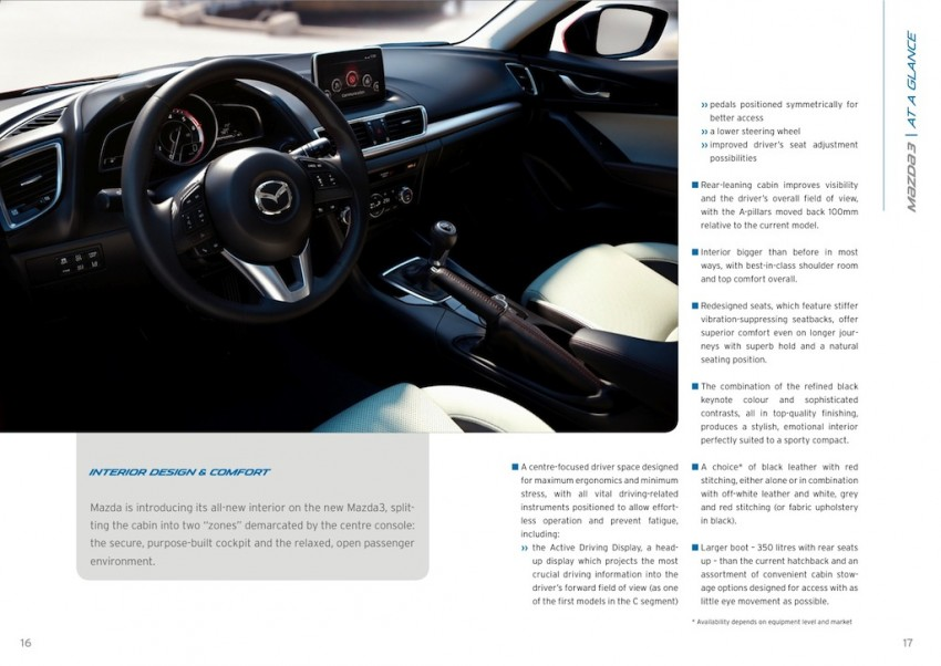 2014 Mazda 3 5-door hatchback makes world debut Image #183563