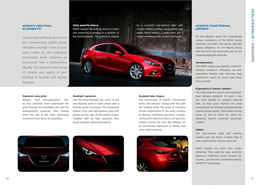 2014 Mazda 3 5-door hatchback makes world debut Image #183566