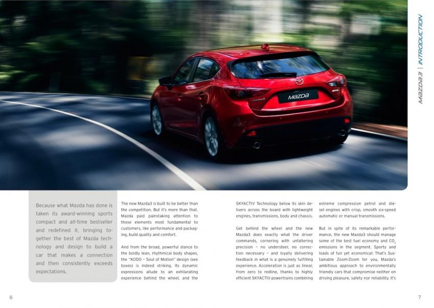 2014 Mazda 3 5-door hatchback makes world debut Image #183568