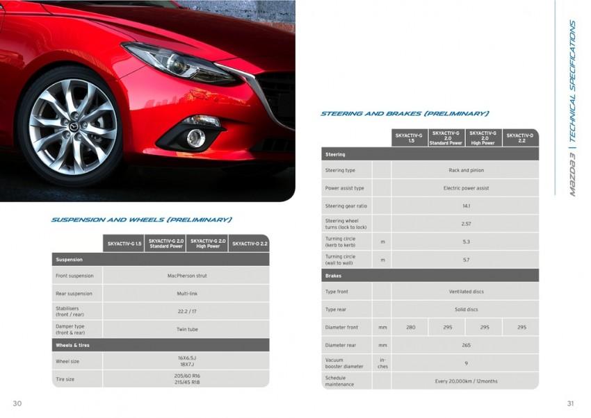 2014 Mazda 3 5-door hatchback makes world debut Image #183571