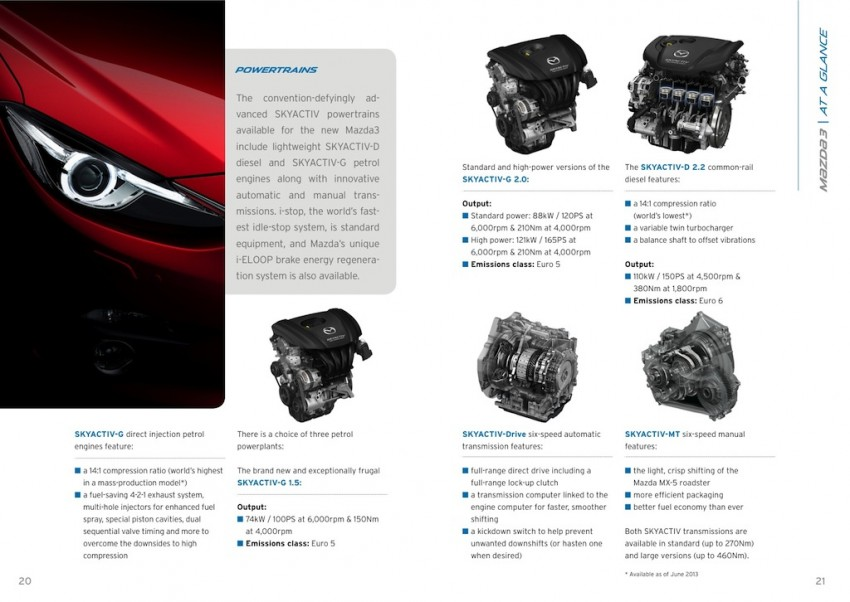 2014 Mazda 3 5-door hatchback makes world debut Image #183575