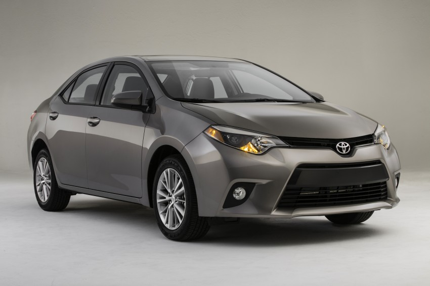 2014 Toyota Corolla – US-market 11th-gen revealed Image #179274