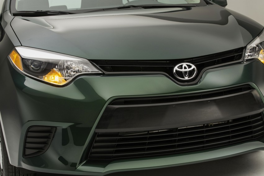 2014 Toyota Corolla – US-market 11th-gen revealed Image #179281