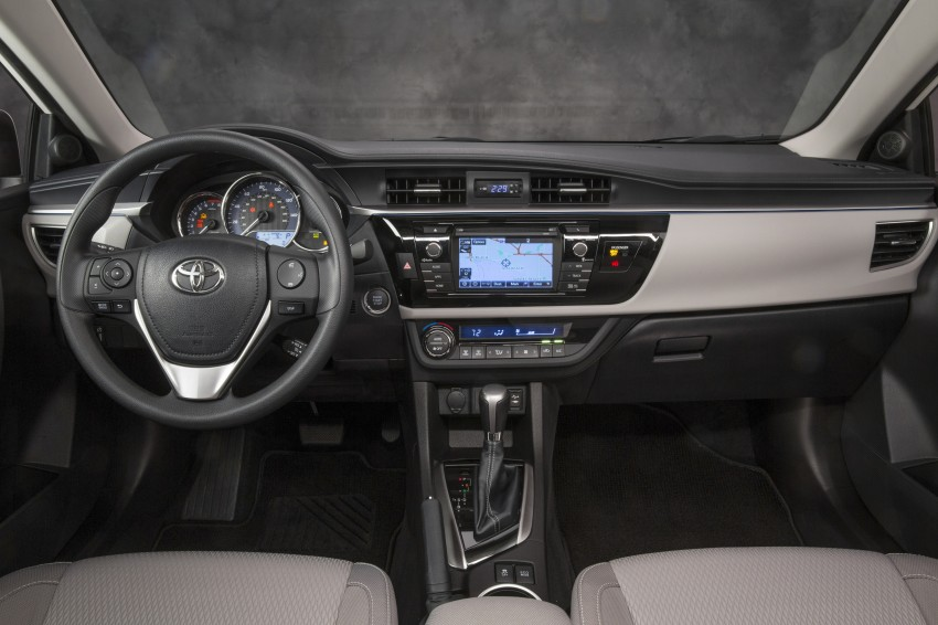 2014 Toyota Corolla – US-market 11th-gen revealed Image #179295