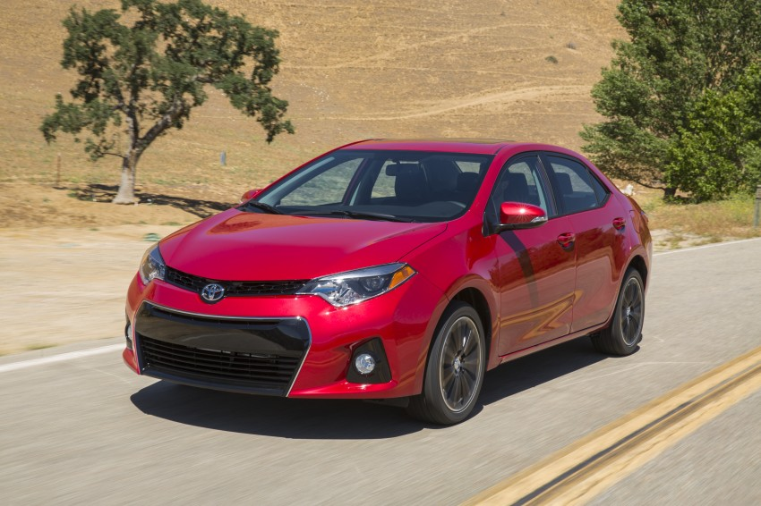 2014 Toyota Corolla – US-market 11th-gen revealed Image #179300