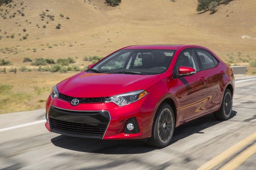 2014 Toyota Corolla – US-market 11th-gen revealed Image #179301