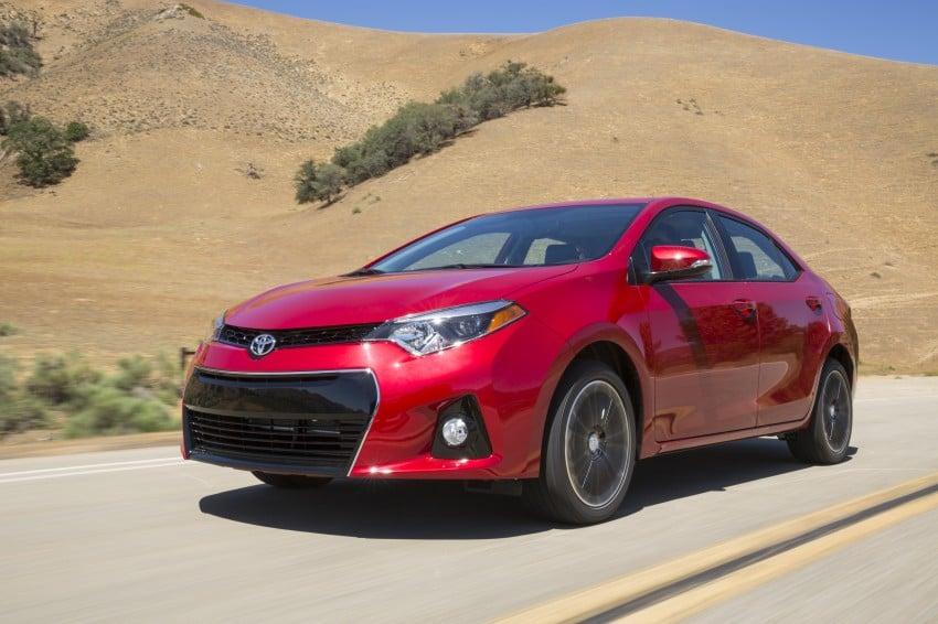 2014 Toyota Corolla – US-market 11th-gen revealed Image #179306