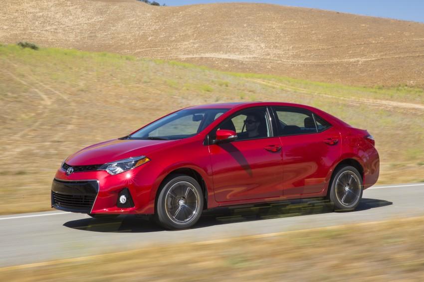 2014 Toyota Corolla – US-market 11th-gen revealed Image #179312