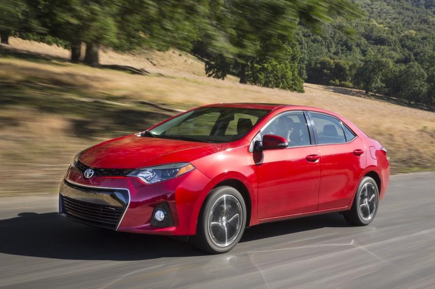 2014 Toyota Corolla – US-market 11th-gen revealed Image #179315