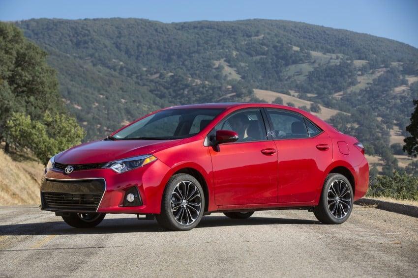 2014 Toyota Corolla – US-market 11th-gen revealed Image #179319