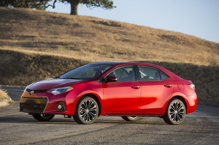 2014 Toyota Corolla – US-market 11th-gen revealed Image #179324