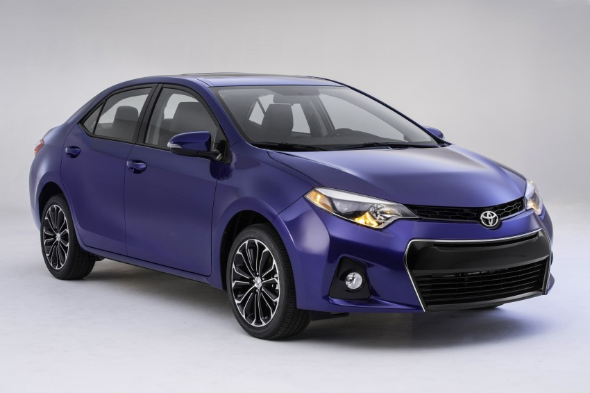 2014 Toyota Corolla – US-market 11th-gen revealed Image #179249