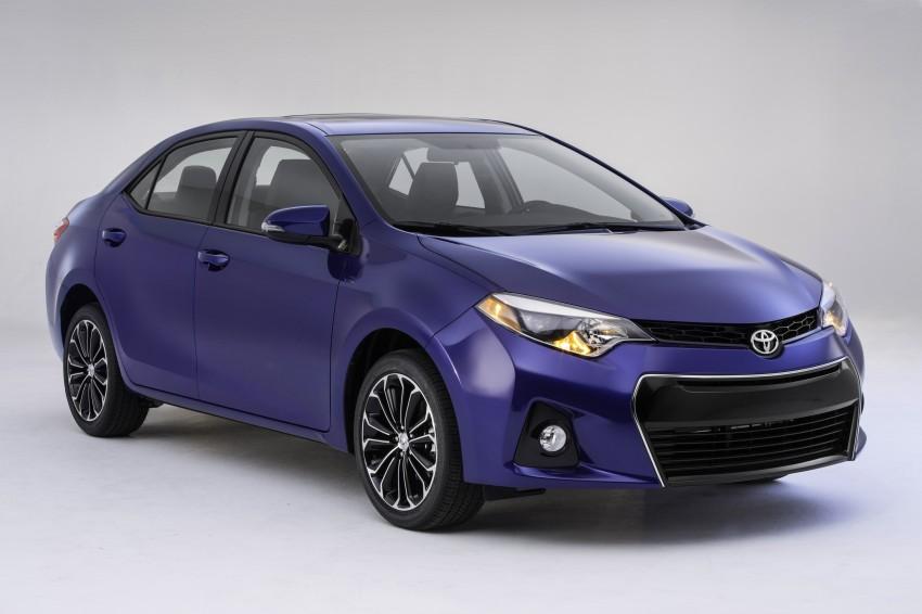 2014 Toyota Corolla – US-market 11th-gen revealed Image #179249