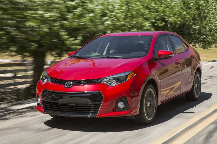 2014 Toyota Corolla – US-market 11th-gen revealed Image #179250