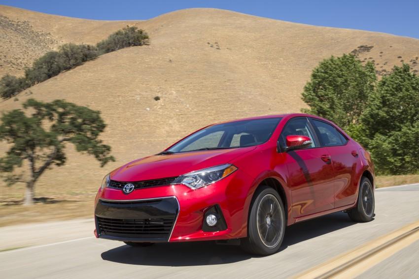 2014 Toyota Corolla – US-market 11th-gen revealed Image #179252