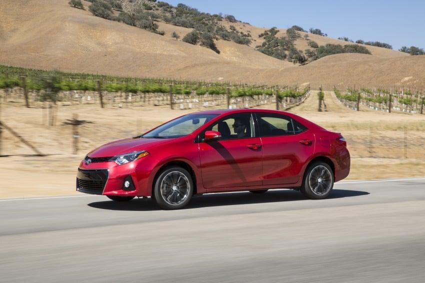 2014 Toyota Corolla – US-market 11th-gen revealed Image #179269