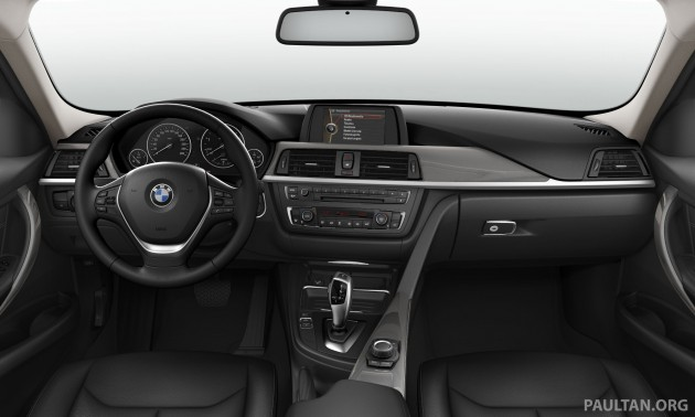 bmw 320d modern updated in malaysia with new black interior. Black Bedroom Furniture Sets. Home Design Ideas