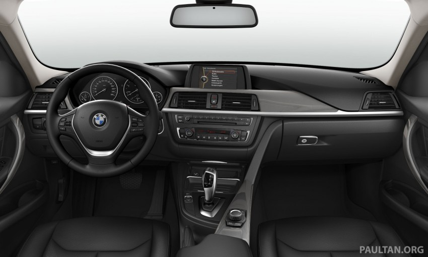 BMW 320d Modern updated with new black interior Image #182997