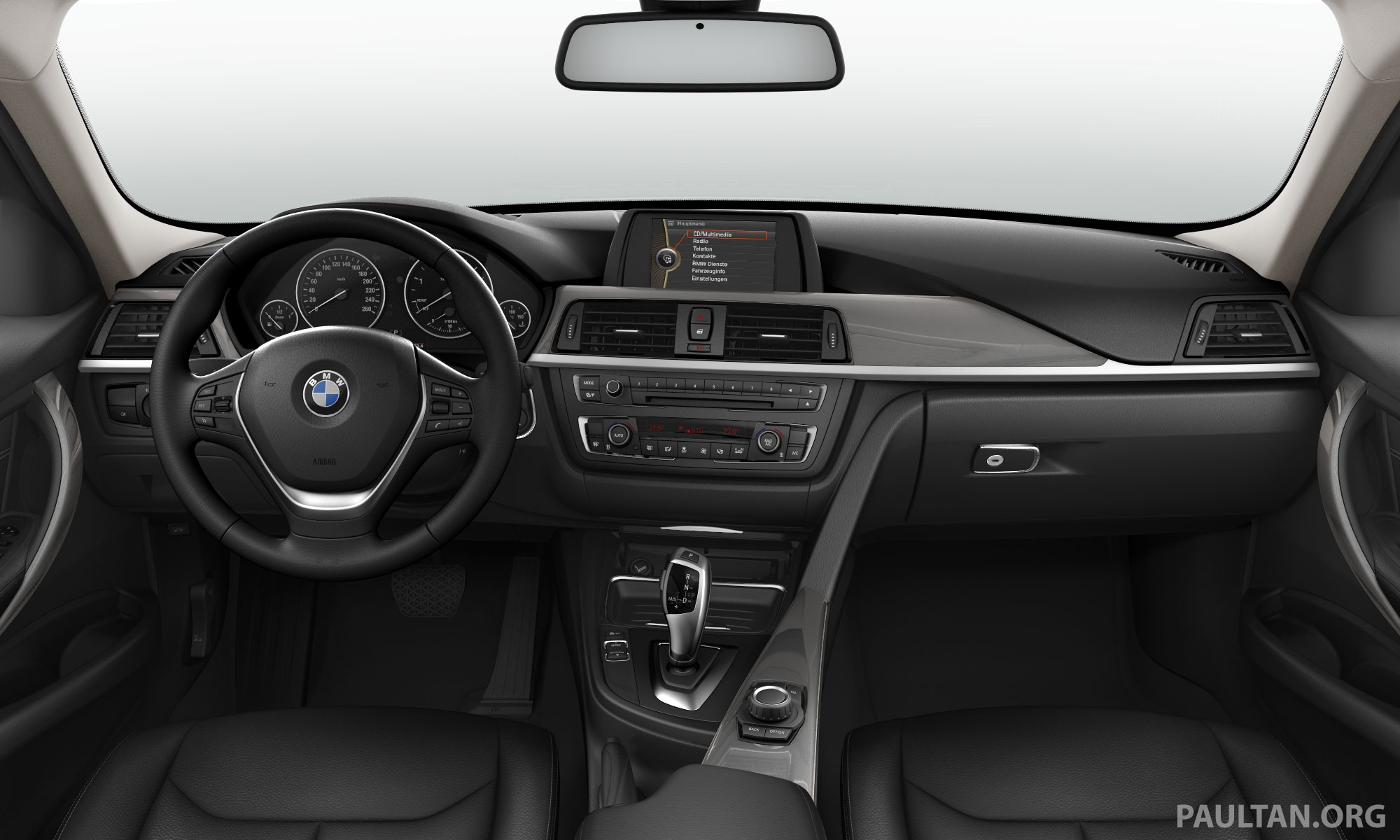 Bmw 320d Modern Updated In Malaysia With New Black Interior