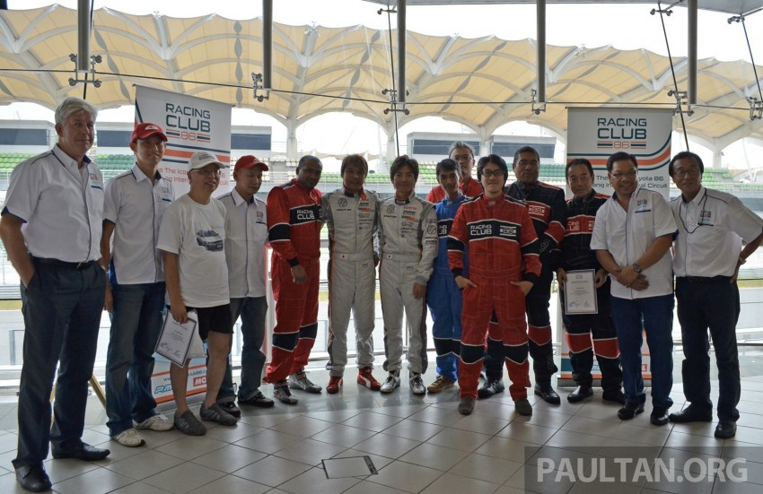 Toyota 86 – Sepang trackday in a stripped M/T racer Image #183530