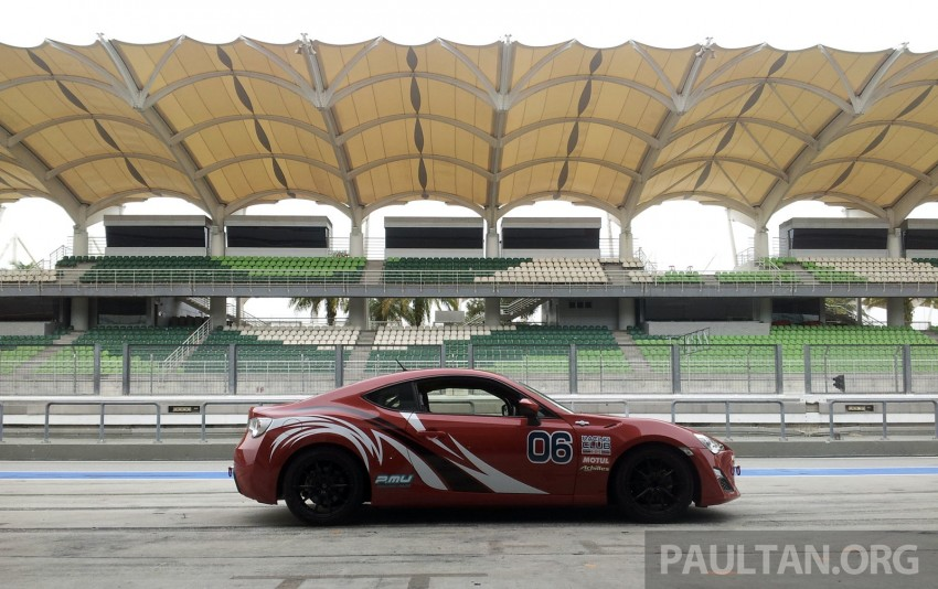 Toyota 86 – Sepang trackday in a stripped M/T racer Image #183536